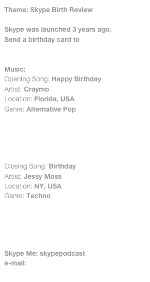 Theme: Skype Birth Review